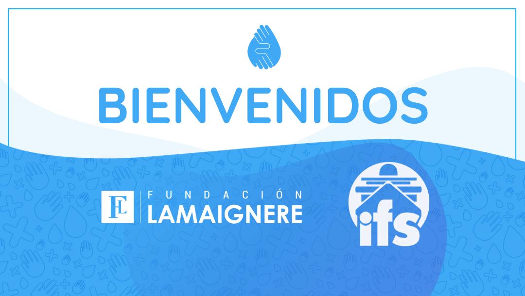 Bienvenidos, IFS International Forwarding, S.L. y Fundación Lamaignere