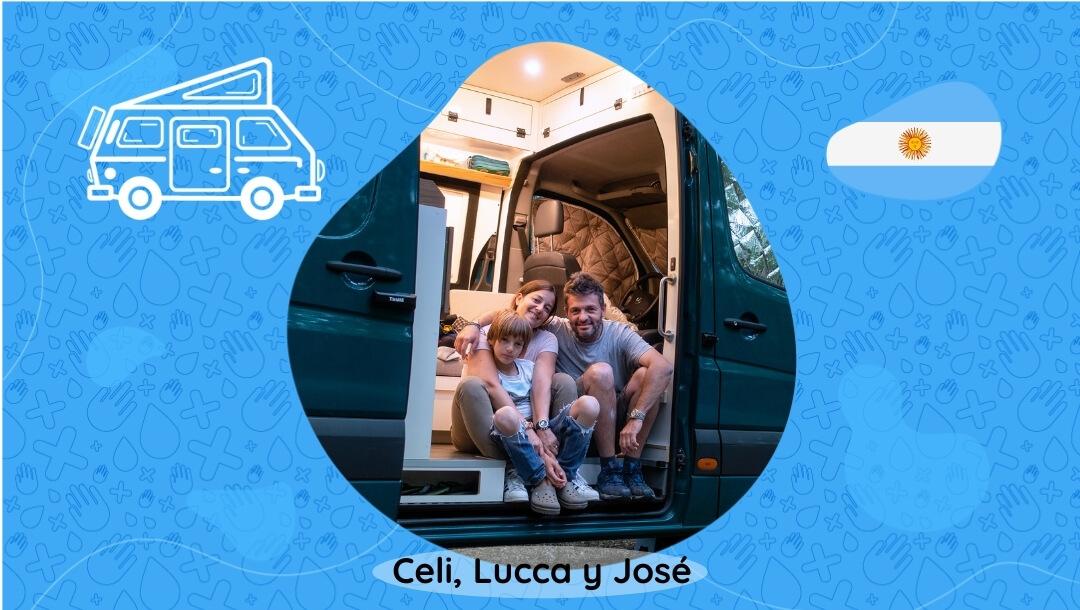 Celi, Lucca y José