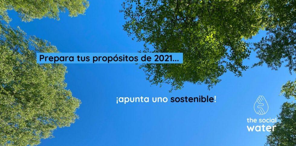 Prepara tus propósitos de 2021… e ¡incluye uno eco-friendly!